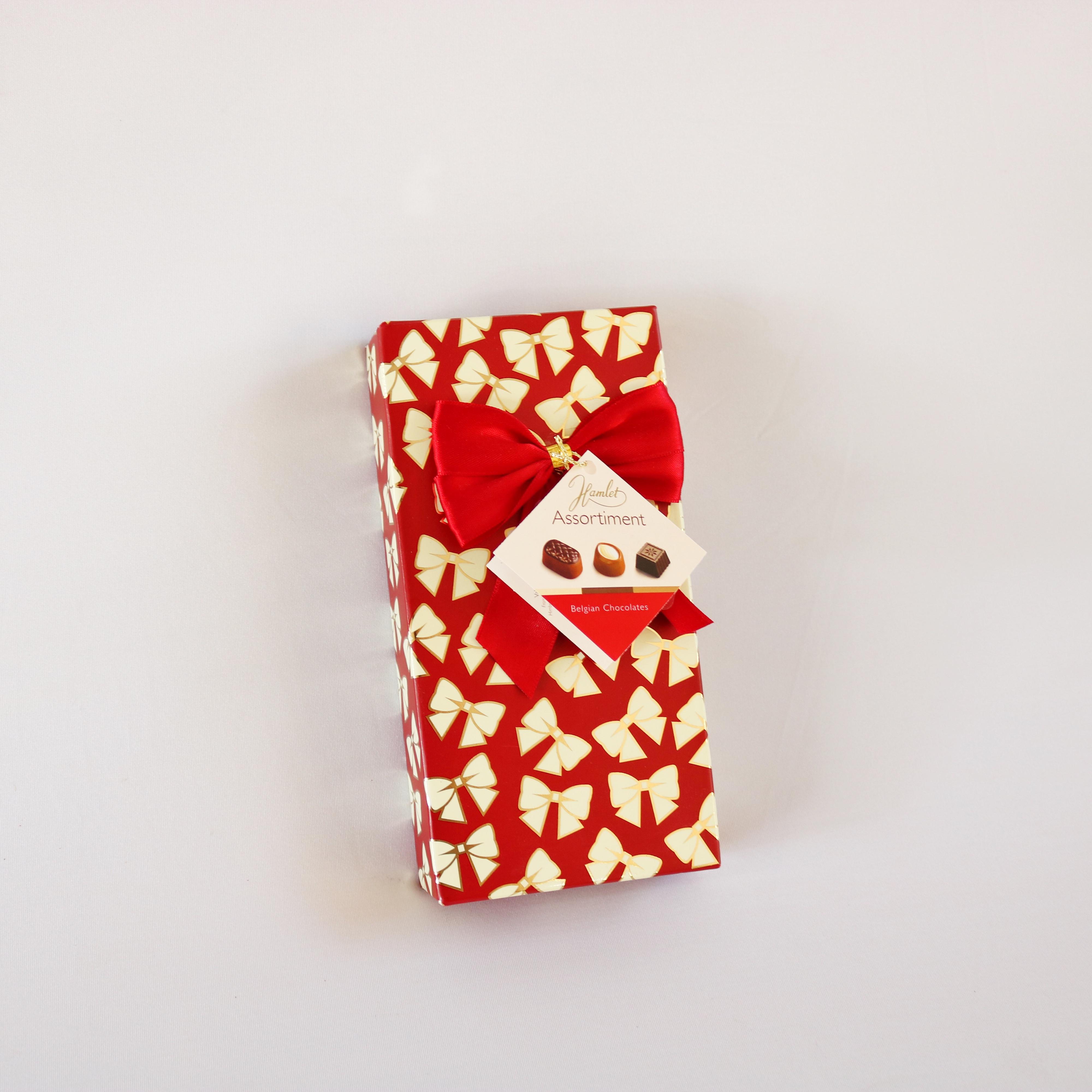 שוקולד המלט אדום