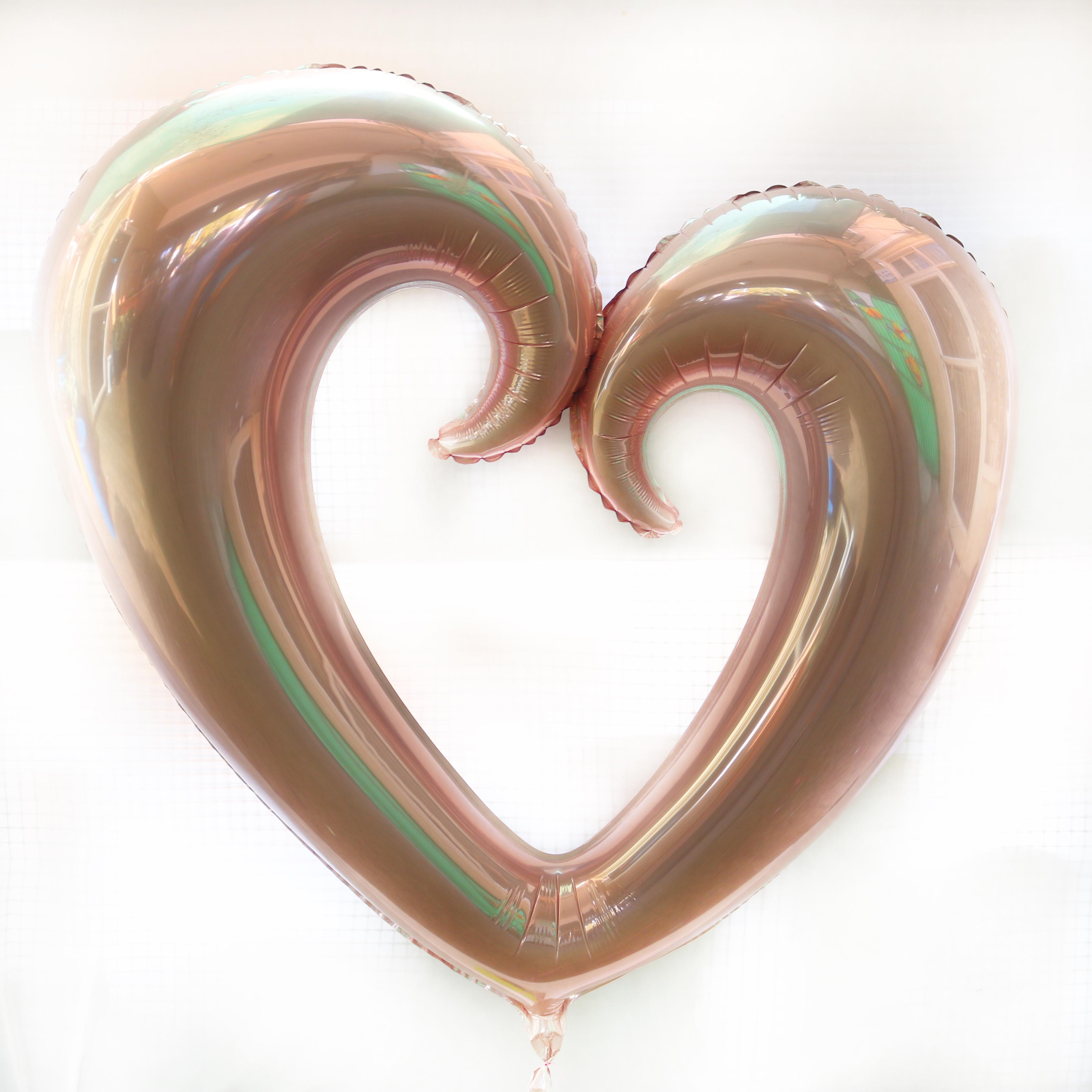 בלון הליום לב גדול